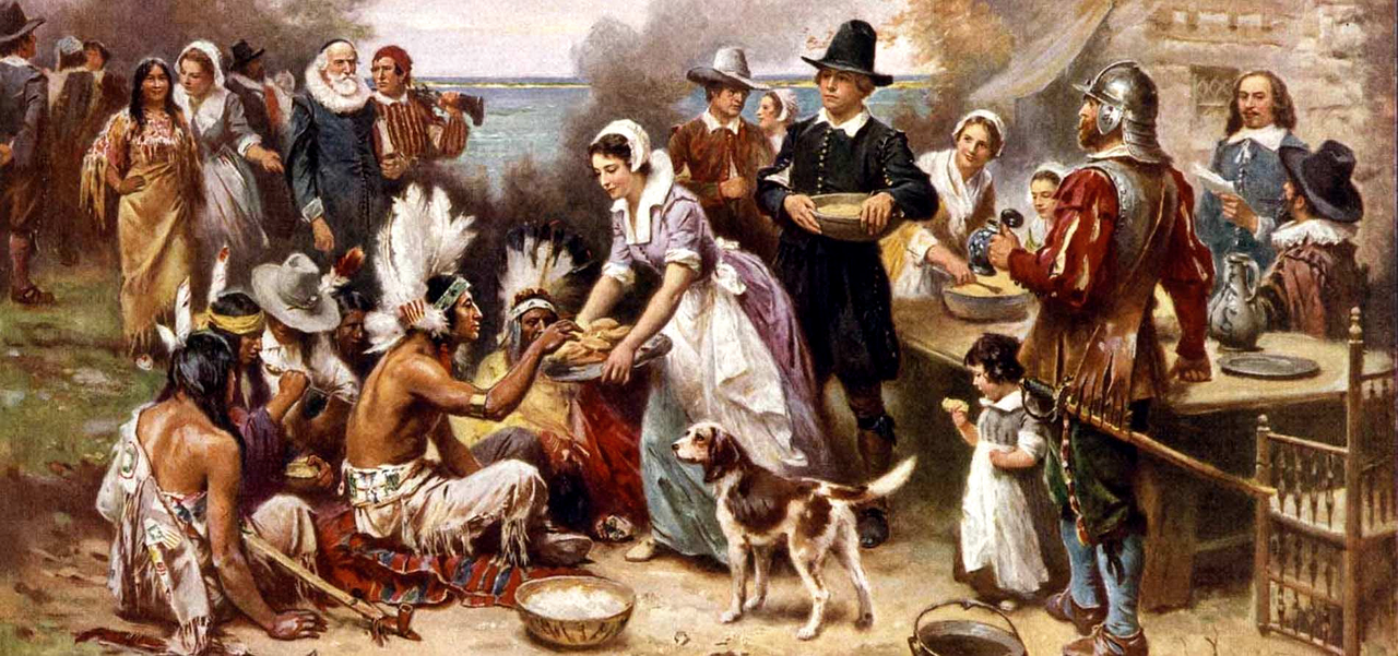The First Thanksgiving Jean Louis Gerome Ferris