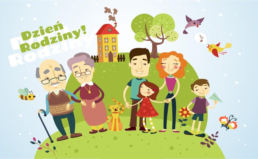 plakat dzien rodziny